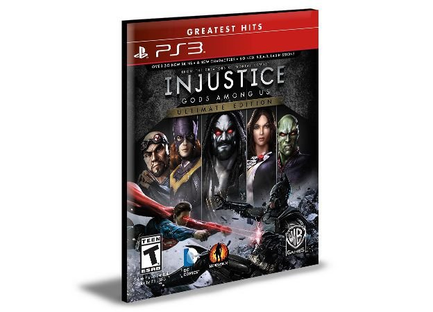 INJUSTICE GODS AMONG US ULTIMATE EDITION PS3 PSN MÍDIA DIGITAL
