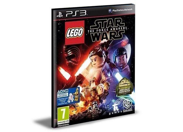 Lego STAR Wars O Despertar Da Força Ps3 Mídia Digital
