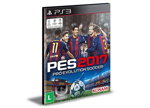 PES 2017 PORTUGUÊS PS3 PSN MÍDIA DIGITAL