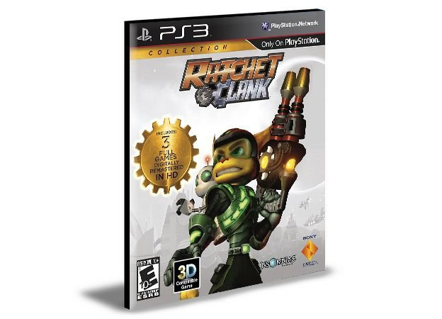 RATCHET & CLANK COLLECTION | PS3 | PSN | MÍDIA DIGITAL