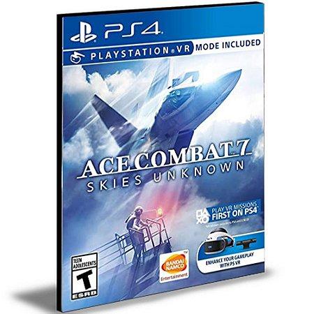 Ace Combat 7 Skies Unknown Ps4 e Ps5 Psn  Português  Mídia Digital
