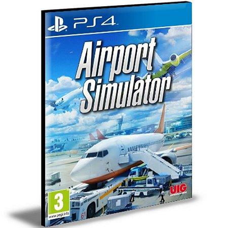 Airport Simulator 2019 Ps4 e Ps5 Mídia Digital