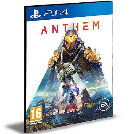 Anthem  Ps4 e Ps5  Psn  Português  Mídia Digital