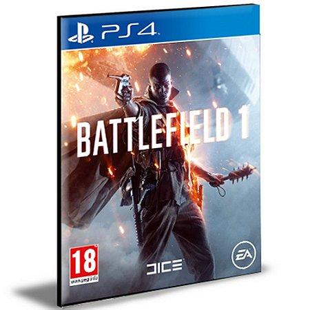Battlefield 1 Ps4 e Ps5 Psn Mídia Digital