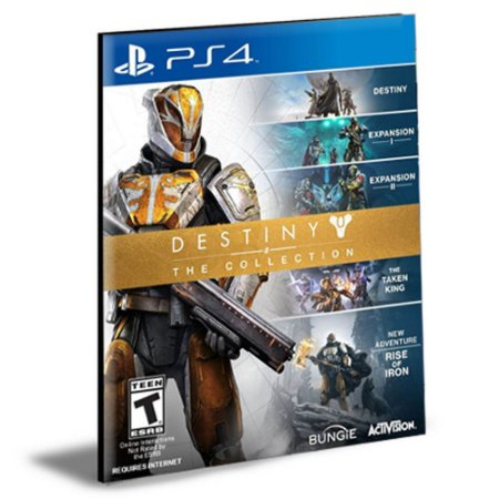 DESTINY THE COLLECTION PORTUGUÊS PS4 e PS5 PSN MÍDIA DIGITAL