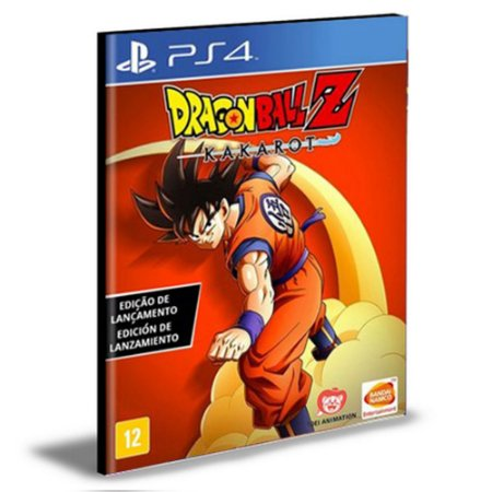 DRAGON BALL Z KAKAROT PS4 e PS5 PSN MÍDIA DIGITAL