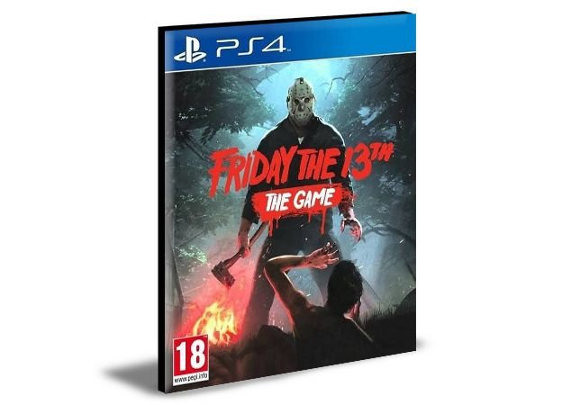 FRIDAY THE 13TH THE GAME Ps4 e Ps5 Psn Mídia Digital