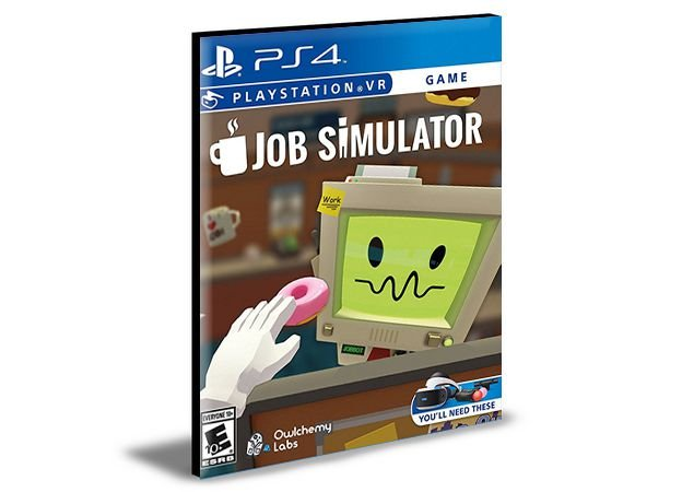 Job Simulator Playstation Vr PS4 PSN MÍDIA DIGITAL