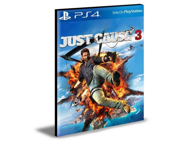 Just Cause 3 Ps4 e Ps5 Psn Mídia Digital