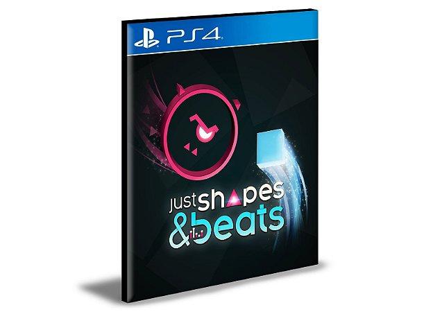 Just Shapes e Beats   Ps4   Psn   Mídia Digital