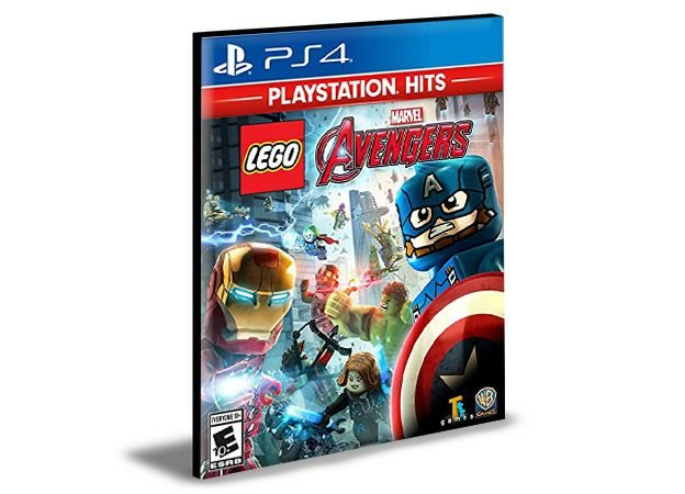 LEGO MARVEL AVENGERS PS4 e PS5 PSN MÍDIA DIGITAL