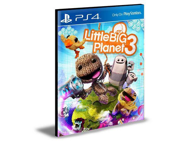 Little big Planet 3 Inglês Ps4 e Ps5 Psn Mídia Digital