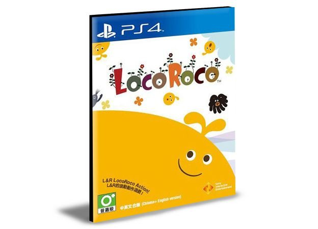 LocoRoco Remastered Ps4 e Ps5 Psn Mídia Digital