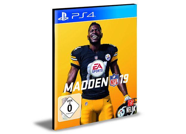 MADDEN NFL 19 Ps4 e Ps5 Psn Mídia Digital