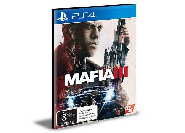 MAFIA 3 PS4 e PS5 PSN MÍDIA DIGITAL