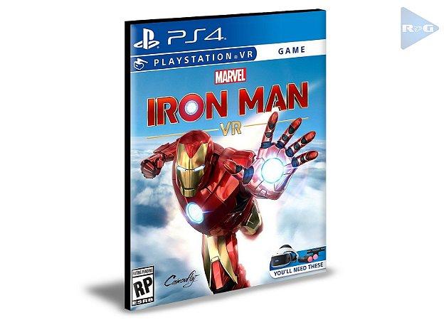 Marvel's Iron Man VR Ps4 Psn Mídia Digital