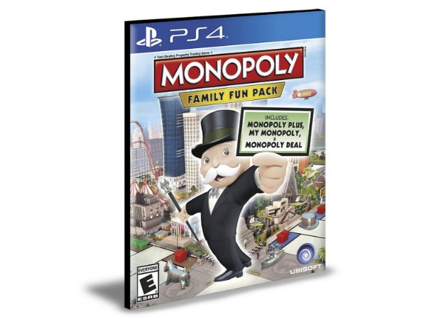 MONOPOLY Family Fun Pack    PS4   PSN   MÍDIA DIGITAL