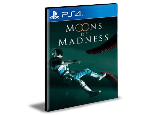 MOONS OF MADNESS PS4 e PS5 PSN MÍDIA DIGITAL