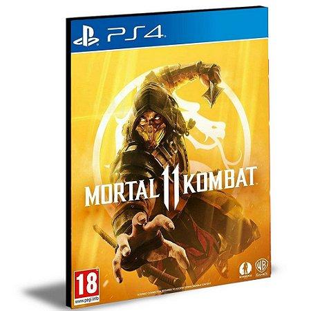 Mortal kombat 11 Ps4 e Ps5 Português Psn Mídia Digital