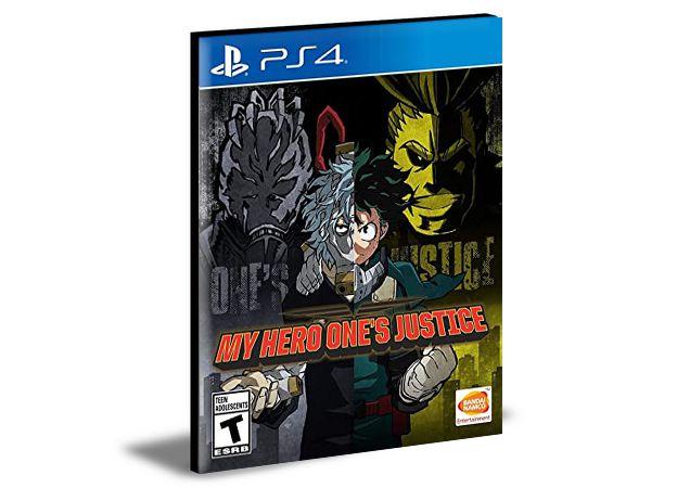 My Hero One's Justice PS4 e PS5 PSN MÍDIA DIGITAL