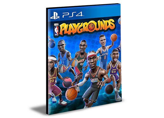 NBA PLAYGROUNDS PS4 e PS5  PSN  MÍDIA DIGITAL