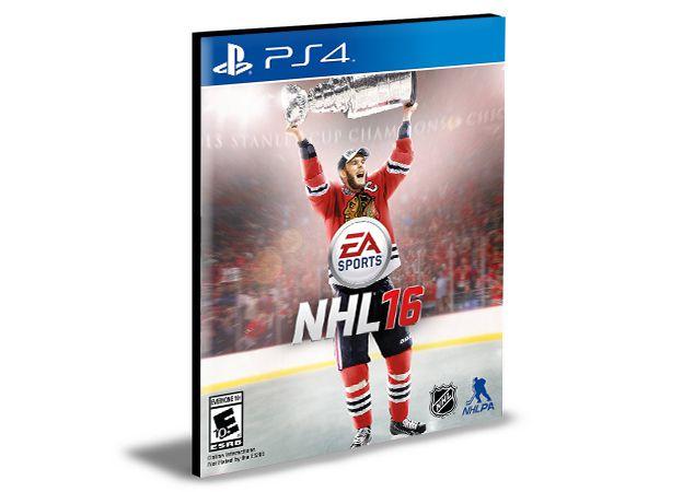 NHL 16|Ps4|Psn|Mídia Digital