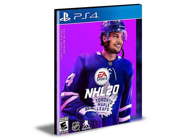 NHL 20 Standard Edition PS4 e PS5 PSN  MÍDIA DIGITAL