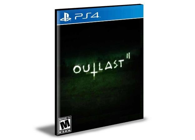 Outlast 2 Português PS4 e PS5 PSN  MÍDIA DIGITAL