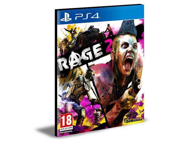 Rage 2 PS4 e PS5 PSN  MÍDIA DIGITAL