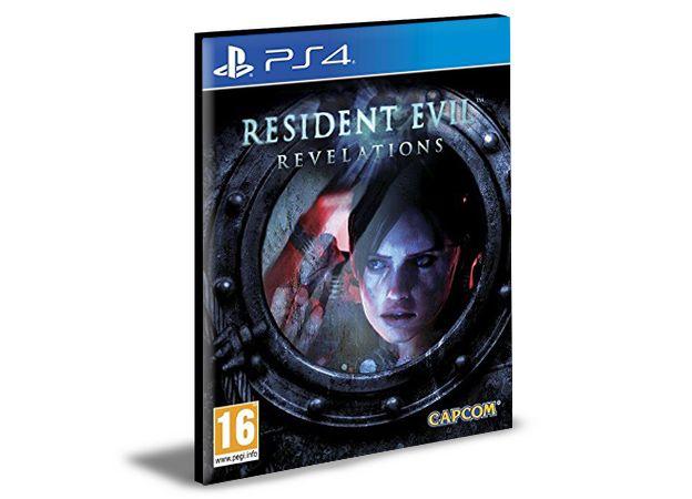 RESIDENT EVIL REVELATIONS PS4 e PS5 PSN MÍDIA DIGITAL