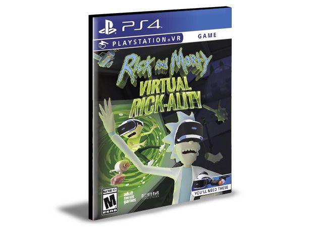Rick and Morty Virtual Rick-ality PlayStation VR PS4 e PS5 PSN MÍDIA DIGITAL