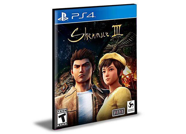 SHENMUE 3 PS4 e PS5 PSN  MÍDIA DIGITAL
