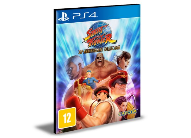 Street Fighter 30th Anniversary Collection Ps4 e Ps5 Psn  Mídia Digital