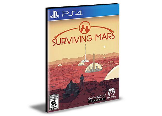 Surviving Mars Ps4 e Ps5 Psn  Mídia Digital