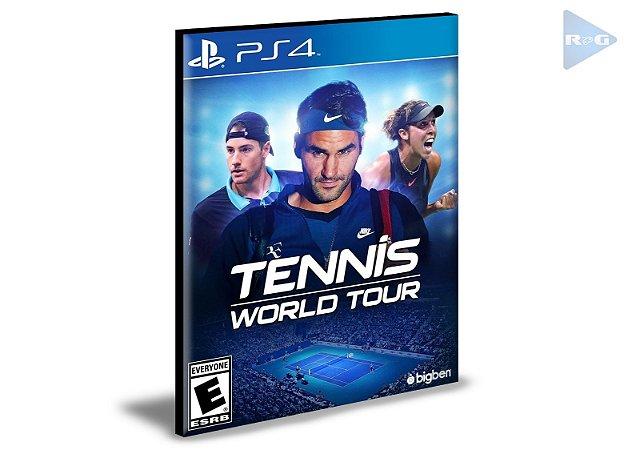 TENNIS WORLD TOUR  Ps4 e Ps5 Psn  Mídia Digital