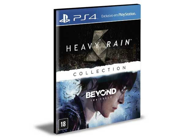 THE HEAVY RAIN BEYOND TWO SOULS COLLECTION  PS4 e PS5 PSN  MÍDIA DIGITAL