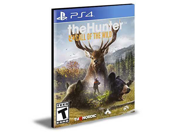 THEHUNTER CALL OF THE WILD PS4 e PS5 PSN  MÍDIA DIGITAL