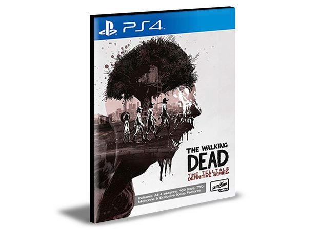 The Walking Dead The Telltale Definitive Series Ps4 e Ps5  Psn  Mídia Digital