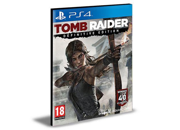 TOMB RAIDER DEFINITIVE EDITION PS4 e PS5 Psn Mídia Digital