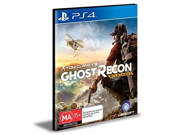 TOM CLANCY'S GHOST RECON WILDLANDS STANDARD EDITION  PS4 e PS5 PSN  MÍDIA DIGITAL