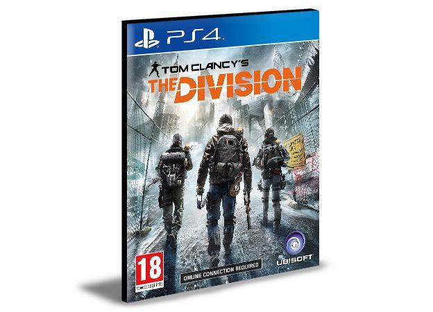 TOM CLANCYS THE DIVISION PORTUGUÊS PS4 e PS5 PSN MÍDIA DIGITAL