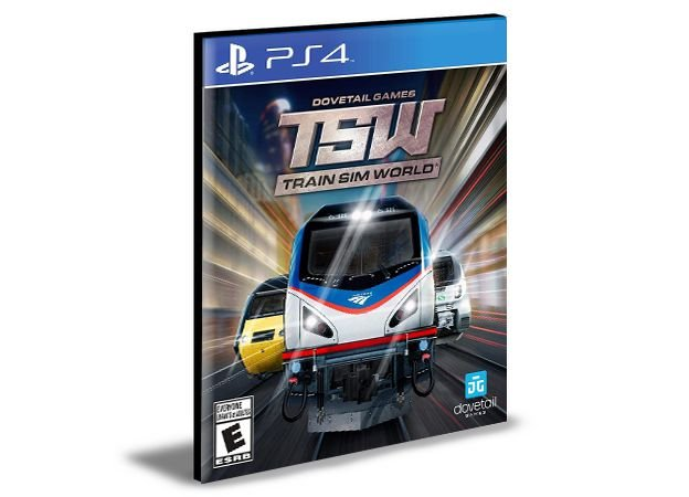 Train Sim World Ps4 e Ps5 Psn  Mídia Digital