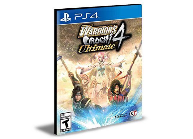 Warriors Orochi 4 Ultimate with Bonus Ps4 e Ps5 Psn  Mídia Digital