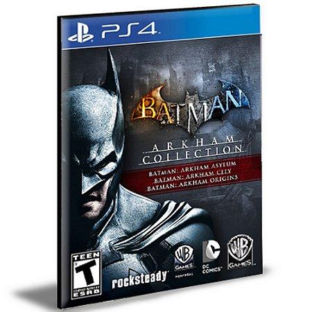 Batman Arkham Collection Português Ps4 e Ps5 Psn Mídia Digital