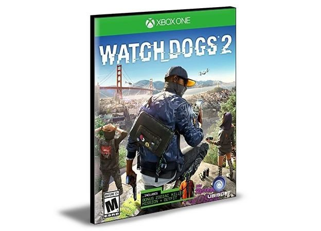 Watch Dogs 2 Português Xbox One e Xbox Series X|S Mídia Digital