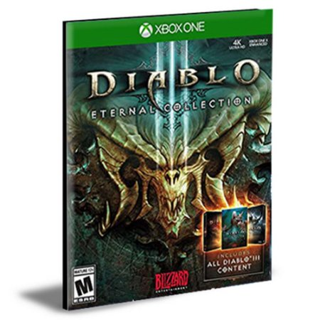Diablo 3 III Eternal Collection Português Xbox One e Xbox Series X|S MÍDIA DIGITAL