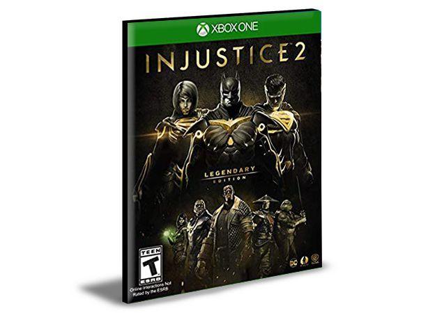 Injustice 2 Edição Lendária Português Xbox One e Xbox Series X|S  MÍDIA DIGITAL