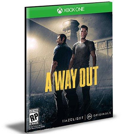A Way Out Português Xbox One e Xbox Series X|S Mídia Digital