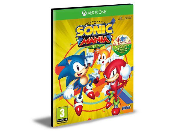 Sonic Mania Xbox One e Xbox Series X|S  MÍDIA DIGITAL