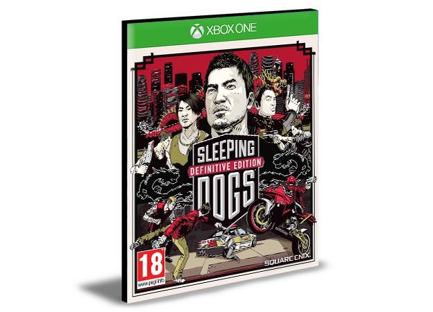 Sleeping Dogs Definitive Edition Xbox One e Xbox Series X|S MÍDIA DIGITAL